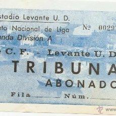 Coleccionismo deportivo: ENTRADA DE UN LEVANTE U.D. ELCHE (¿AÑOS 70?). Lote 47006811