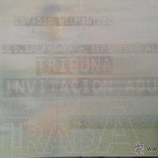 Coleccionismo deportivo: ENTRADA UD SALAMANCA VS CD ALAVES. Lote 47346096