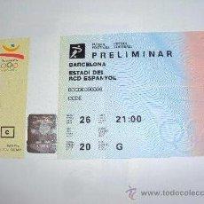 Coleccionismo deportivo: RCD ESPANYOL . ESTADI DE SARRIA .JJOO BARCELONA 92. Lote 36321659