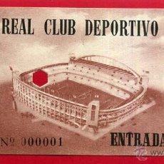 Coleccionismo deportivo: ENTRADA FUTBOL , REAL CLUB DEPORTIVO ESPAÑOL , ANTIGUA , ORIGINAL , EF3623. Lote 49559502