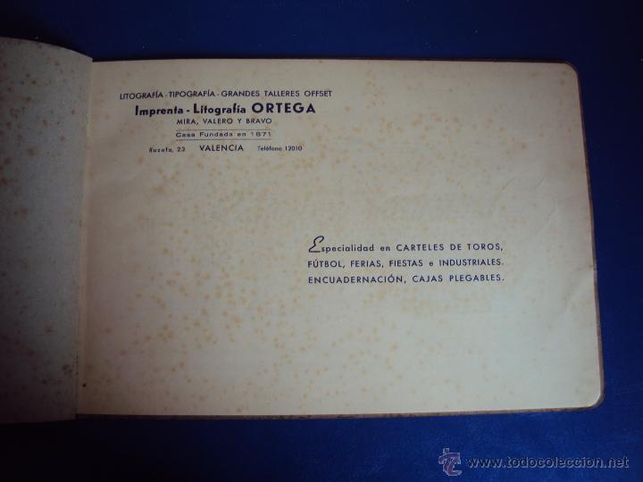 Coleccionismo deportivo: (F-0779)CATALOGO DE PROPAGANDA DE FUTBOL 1944-45,CARTELES Y ENTRADAS - Foto 3 - 50528850