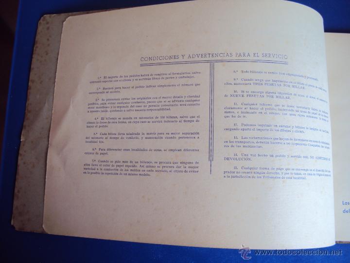 Coleccionismo deportivo: (F-0779)CATALOGO DE PROPAGANDA DE FUTBOL 1944-45,CARTELES Y ENTRADAS - Foto 5 - 50528850