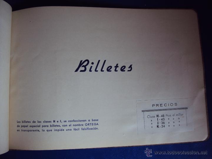 Coleccionismo deportivo: (F-0779)CATALOGO DE PROPAGANDA DE FUTBOL 1944-45,CARTELES Y ENTRADAS - Foto 8 - 50528850