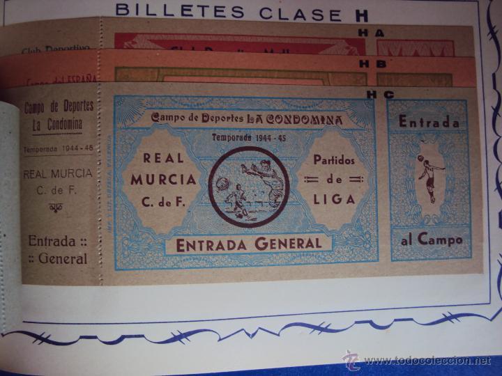 Coleccionismo deportivo: (F-0779)CATALOGO DE PROPAGANDA DE FUTBOL 1944-45,CARTELES Y ENTRADAS - Foto 10 - 50528850