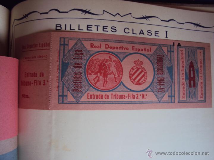 Coleccionismo deportivo: (F-0779)CATALOGO DE PROPAGANDA DE FUTBOL 1944-45,CARTELES Y ENTRADAS - Foto 16 - 50528850