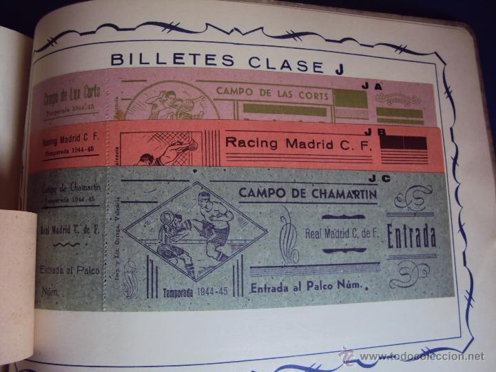 Coleccionismo deportivo: (F-0779)CATALOGO DE PROPAGANDA DE FUTBOL 1944-45,CARTELES Y ENTRADAS - Foto 18 - 50528850