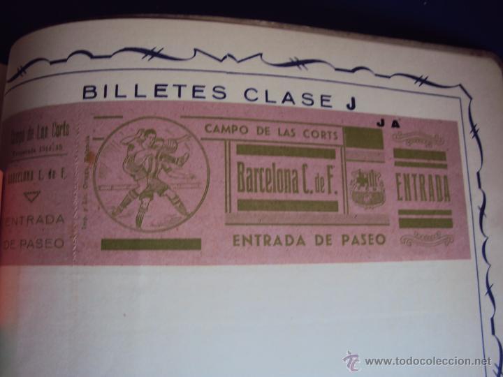 Coleccionismo deportivo: (F-0779)CATALOGO DE PROPAGANDA DE FUTBOL 1944-45,CARTELES Y ENTRADAS - Foto 20 - 50528850