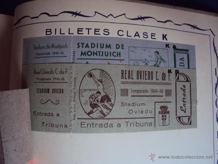 Coleccionismo deportivo: (F-0779)CATALOGO DE PROPAGANDA DE FUTBOL 1944-45,CARTELES Y ENTRADAS - Foto 23 - 50528850
