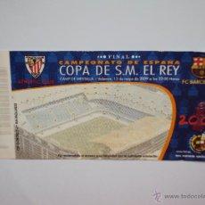 Coleccionismo deportivo: FINAL COPA DEL REY 2009. FC BARCELONA - ATH. BILBAO.. Lote 97232566