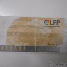 Coleccionismo deportivo: ENTRADA LOGROÑES - F.C. BARCELONA. TEMPORADA 96/97. LAS GAUNAS. TDKP6. Lote 52735374