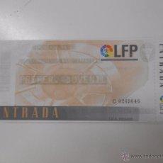 Coleccionismo deportivo: ENTRADA LOGROÑES - RAYO VALLECANO. TEMPORADA 96/97. LAS GAUNAS. TDKP6. Lote 52735389