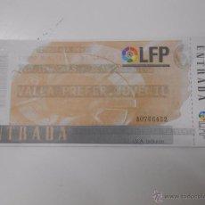 Coleccionismo deportivo: ENTRADA LOGROÑES - REAL SOCIEDAD. TEMPORADA 96/97. LAS GAUNAS. TDKP6. Lote 52735408