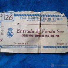 Coleccionismo deportivo: R.MADRID SANTIAGO BERNABEU AÑOS 50. Lote 53342254