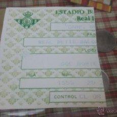 Coleccionismo deportivo: ENTRADA DE FUTBOL ESTADIO BENITO VILLAMARIN - REAL BETIS. Lote 53760777