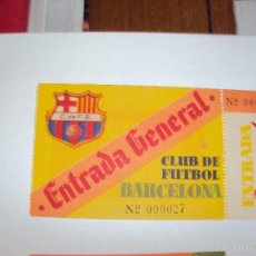 Coleccionismo deportivo: CF BARCELONA. GENERAL 027. SIN CORTAR.. Lote 56849353