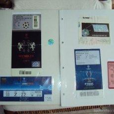 Coleccionismo deportivo: FC BARCELONA. 5 CHAMPIONS 5 . SERIE COMPLETA. Lote 56940750