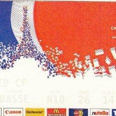 Coleccionismo deportivo: ENTRADA FINAL CHAMPION LEAGUE.24/05/2000.R.MADRID-VALENCIA.. Lote 57615352