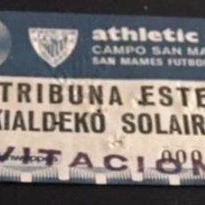 Coleccionismo deportivo: ANTIGUA ENTRADA AÑOS 70 DEL ATHLETIC CLUB DE BILBAO CAMPO SAN MAMES. Lote 254554710