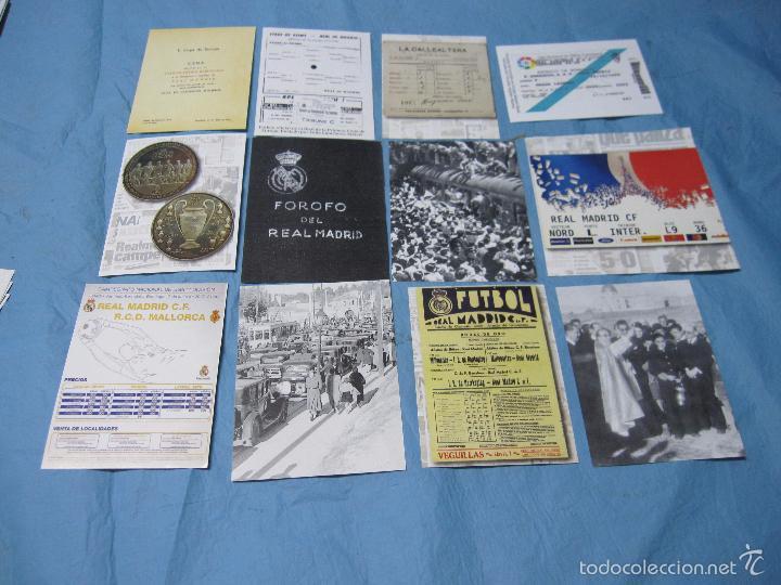 Coleccionismo deportivo: LOS TESOROS DEL REAL MADRID MAS DE CIEN AÑOS DE HISTORIA - Foto 6 - 58922085