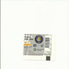 Coleccionismo deportivo: ENTRADA FUTBOL INTER-PARMA 5/5/2004. Lote 63489076