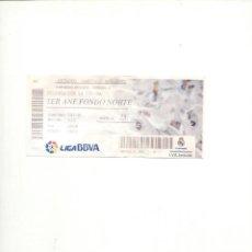 Coleccionismo deportivo: ENTRADAS REAL MADRID. Lote 63802695