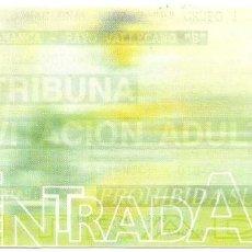 Coleccionismo deportivo: ENTRADA-INVITACION DE FUTBOL - PARTIDO SALAMANCA-RAYO VALLECANO B - ESTADIO HELMANTICO - 24-3-2013. Lote 65740906