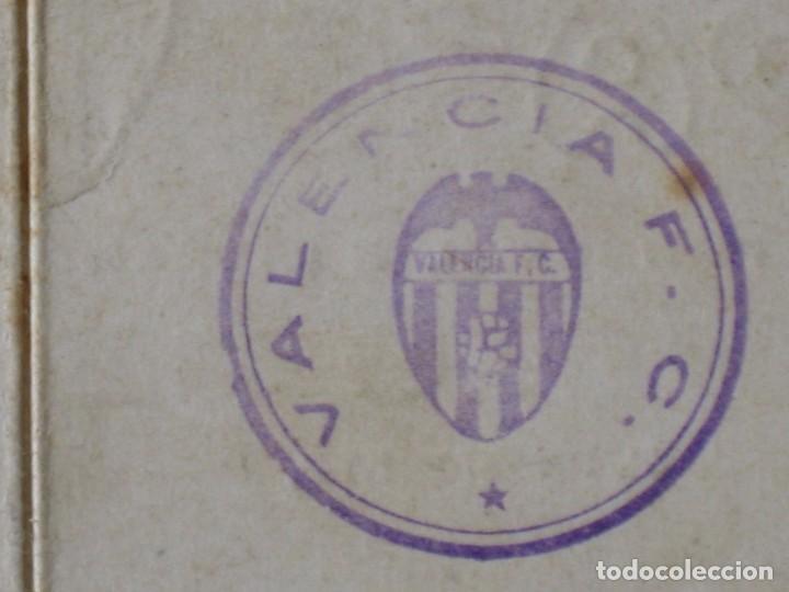 Coleccionismo deportivo: Entrada campo Mestalla 1936 Pase Anual Valencia C.F. - Foto 5 - 67212265
