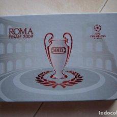 Coleccionismo deportivo: FC BARCELONA BARÇA TICKET ENTRADA FINAL CHAMPIONS LEAGUE ROMA 2009 VIP EDICION LIMITADA. Lote 70016241
