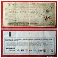 Coleccionismo deportivo: ENTRADA DE FÚTBOL REAL MADRID & VALENCIA 2003. Lote 78520658