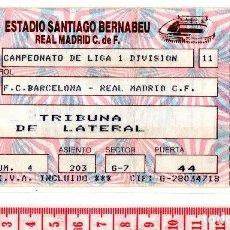 Coleccionismo deportivo: D50 LIGA AÑOS 80 REAL MADRID BARCELONA PARMALAT SANTIAGO BERNABEU. Lote 83124076