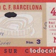 Coleccionismo deportivo: ENTRADA ESTADIO C.F. BARCELONA PARTIDO C.F.BARCELONA REAL BETIS . Lote 85389164