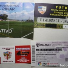 Coleccionismo deportivo: LOTE ENTRADAS FUTBOL ESPAÑOL. Lote 90166592