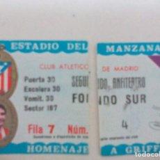 Coleccionismo deportivo: ATLÉTICO DE MADRID HOMENAJE A GRIFFA. Lote 96382767
