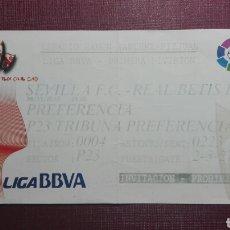 Coleccionismo deportivo: ENTRADA: SEVILLA F.C/REAL BETIS BALOMPIÉ.(2013).. Lote 98170323