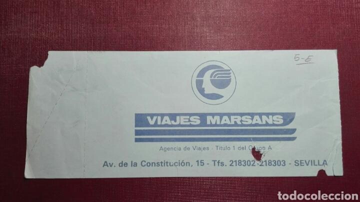 Coleccionismo deportivo: Entrada: Sevilla FC/ FC Barcelona,(1985). - Foto 2 - 98200974