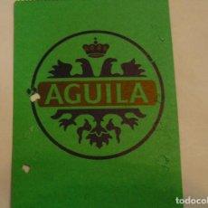 Coleccionismo deportivo: LEVANTE U D PASE TEMPORADA 92 93 PUBLICIDAD CERVEZA EL AGUILA (17). Lote 98245827