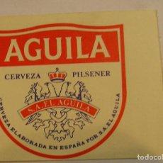 Coleccionismo deportivo: LEVANTE U D PASE TEMPORADA 88 89 PUBLICIDAD CERVEZA EL AGUILA (17). Lote 98245907