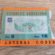 Coleccionismo deportivo: R3008 ENTRADA TICKET BARCELONA AÑOS 70. Lote 98596155