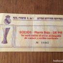 Coleccionismo deportivo: R3105 ENTRADA TICKET REAL MADRID NEUCHATEL UEFA 1985 1986. Lote 101147295