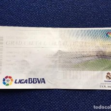 Coleccionismo deportivo: R3205 ENTRADA TICKET ENTRADA FINAL SUPERCOPA REAL MADRID BARCELONA 2011. Lote 102375035