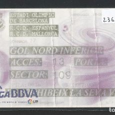 Coleccionismo deportivo: R.C.D. ESPANYOL - R.C.D. MALLORCA - ESTADI OLÍMPIC - P23674. Lote 102787383