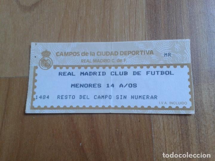 Entrada Fútbol Real Madrid Club De Fútbol Comprar Entradas De Fútbol Antiguas En Todocoleccion 104059947