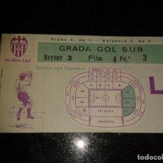 Coleccionismo deportivo: ENTRADA ANTIGUA ELCHE-VALENCIA . Lote 104294135
