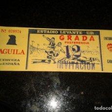 Coleccionismo deportivo: ENTRADA ANTIGUA ESTADIO LEVANTE 12. Lote 104357019