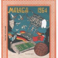 Coleccionismo deportivo: ENTRADA DE FÚTBOL ESTADIO DE LA ROSALEDA ( MÁLAGA ) IV TORNEO INTERNACIONAL COSTA DEL SOL . 1964. Lote 109788947