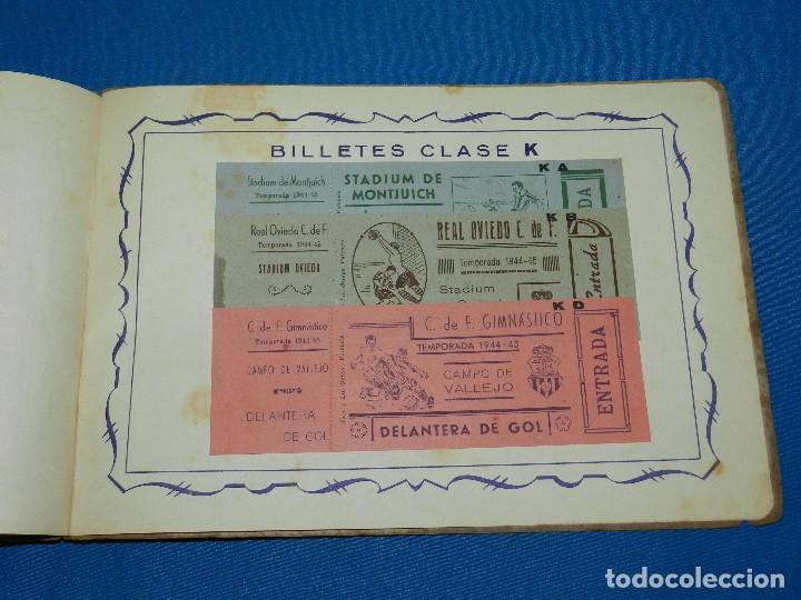 Coleccionismo deportivo: CATALOGO DE PROPAGANDA DE FUTBOL 1944 - 45 , IMP. ORTEGA , VALENCIA , DISEÑO DE ENTRADAS DE FUTBOL - Foto 9 - 117106759
