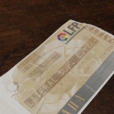 Coleccionismo deportivo: ENTRADA FUTBOL ESTADI OLÍMPIC BARCELONA, R.C.D.ESPANYOL- R.VALLADOLID, 1998.. Lote 120699668