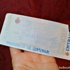 Coleccionismo deportivo: ENTRADA ESTADI OLIMPIC BARCELONA CEREMONIA INAGURAL -PARTIDO ESPANYOL -SELECCIO ARGENTINA -1999-. Lote 123363819