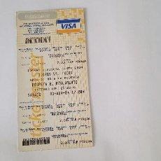 Coleccionismo deportivo: ENTRADA TIGRES - TECOS (MÉXICO / CLAUSURA MEXICANO) 03/04/04. Lote 124416283