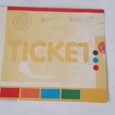 Coleccionismo deportivo: ENTRADA FÚTBOL (UEFA CUP 2001/2001) INTER DE MILÁN - AEK ATENAS. Lote 124417063